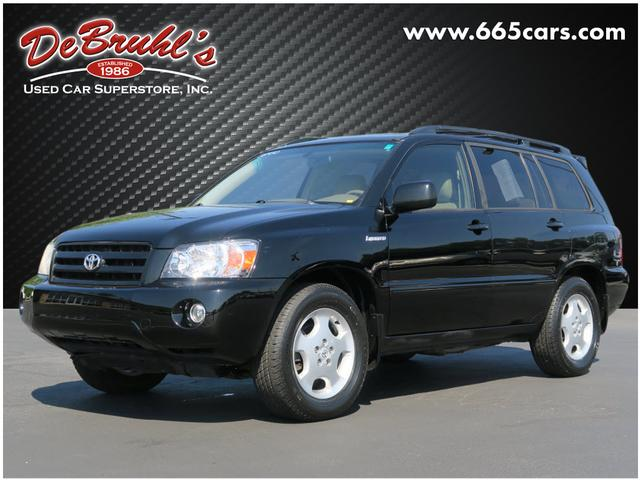 2004 Toyota Highlander Base for sale by dealer