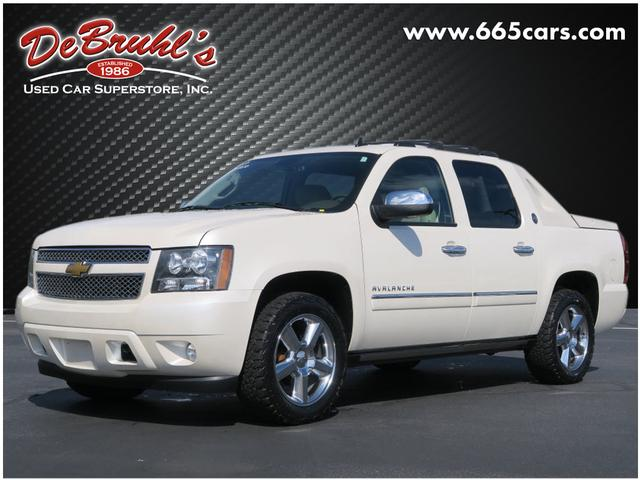 2013 Chevrolet Avalanche LTZ Black Diamond for sale by dealer