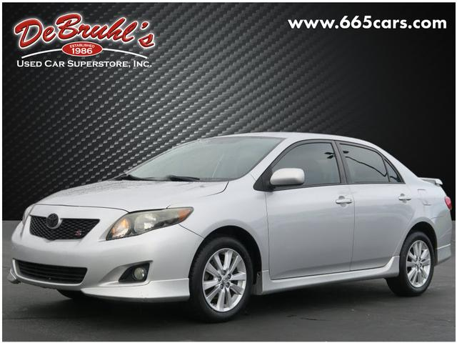 2009 Toyota Corolla S for sale by dealer