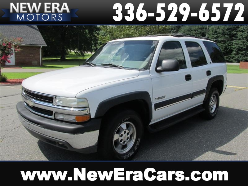 2002 Chevrolet Tahoe 2WD Leather! Cheap! Winston Salem NC