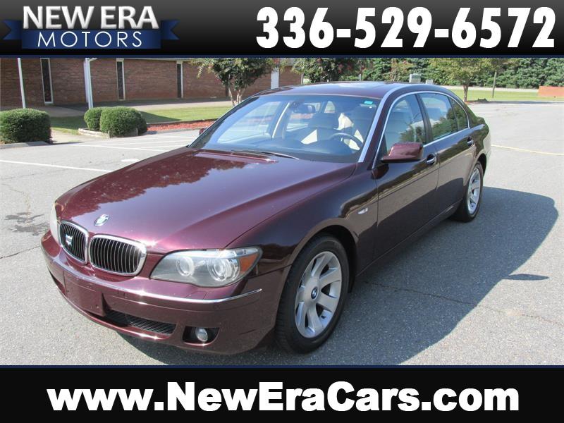 2008 BMW 7-Series 750Li LOADED! LOW MILES! Winston Salem NC