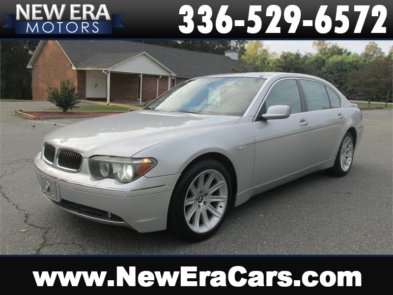2005 BMW 7-Series 745Li Leather! Loaded! for sale by dealer