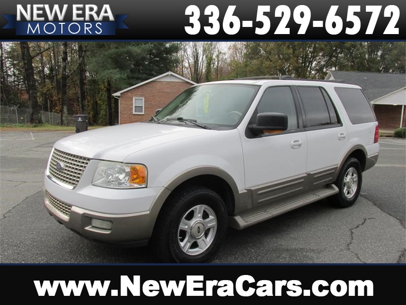 2003 Ford Expedition Eddie Bauer DVD! 3rd Row! Winston Salem NC