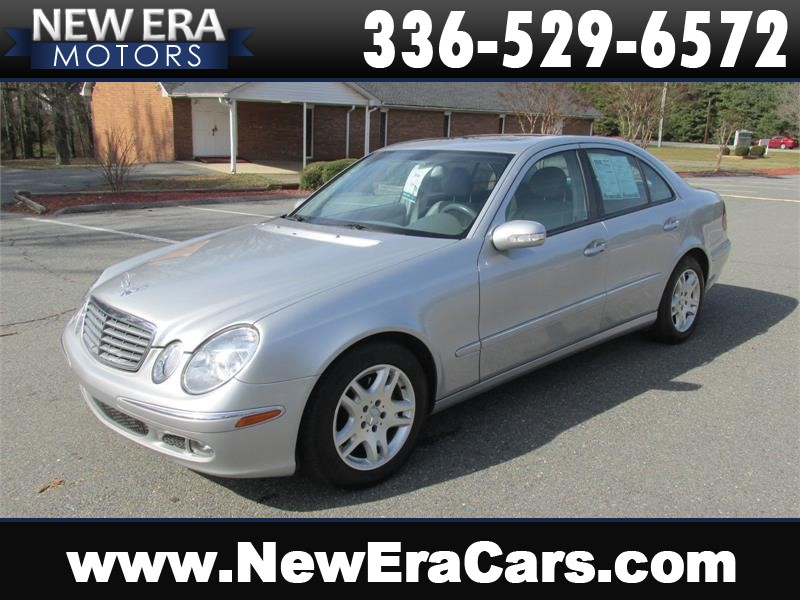 2005 Mercedes-Benz E-Class E320 CDI DIESEL! Leather! for sale by dealer