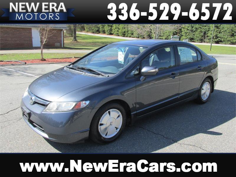 2008 Honda Civic Hybrid Coming Soon! Winston Salem NC