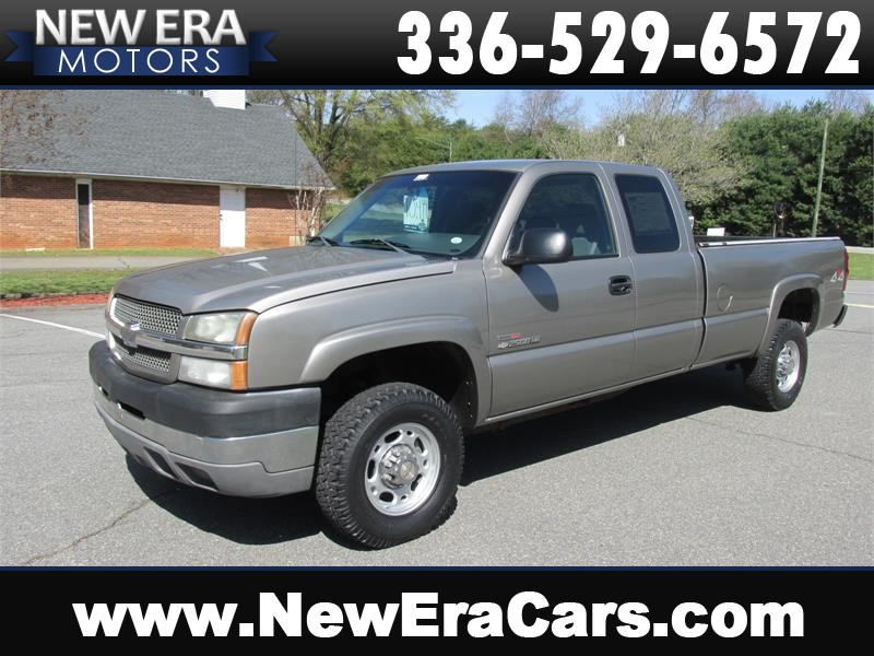 2003 Chevrolet Silverado 2500HD Ext. Cab DIESEL 4x4 for sale by dealer