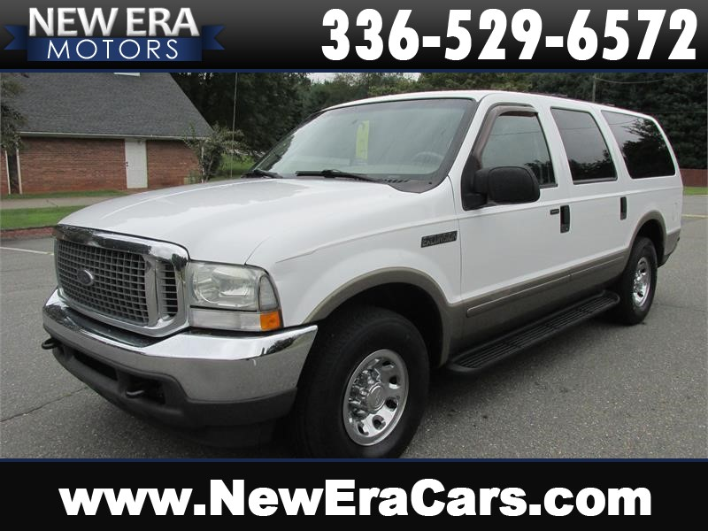 Ford Excursion Xlt Rd Row Leather Nice In Winston Salem