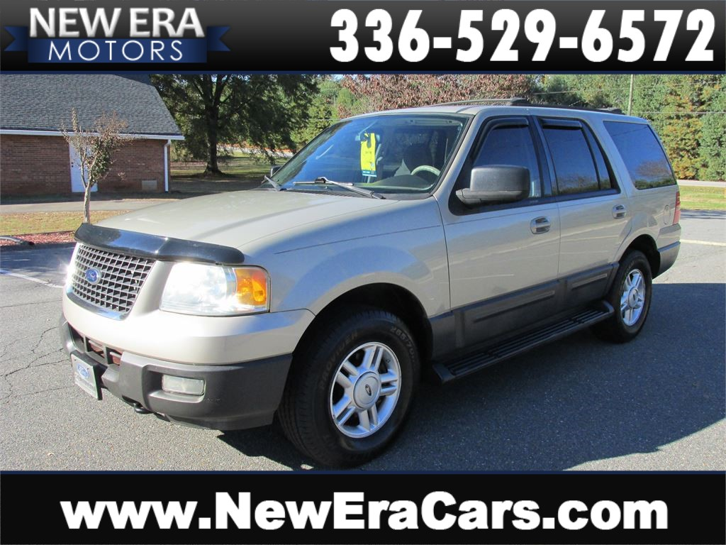 Ford expedition xlt 4x4 3rd row nice in winston salem