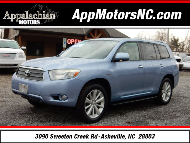 2008 toyota highlander hybrid limited for sale in asheville. Black Bedroom Furniture Sets. Home Design Ideas