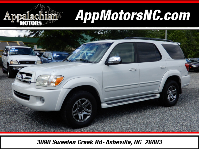 2007 Toyota Sequoia Limited for sale by dealer