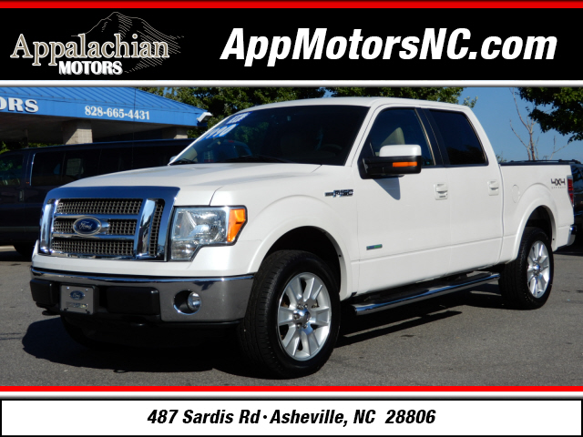 Used 2011 ford f 150 lariat for sale in asheville for Wheel city motors asheville nc