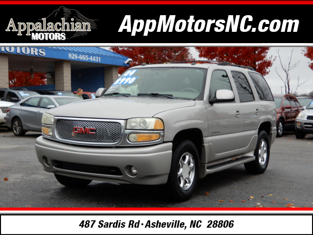 2004 gmc yukon denali for sale in asheville. Black Bedroom Furniture Sets. Home Design Ideas