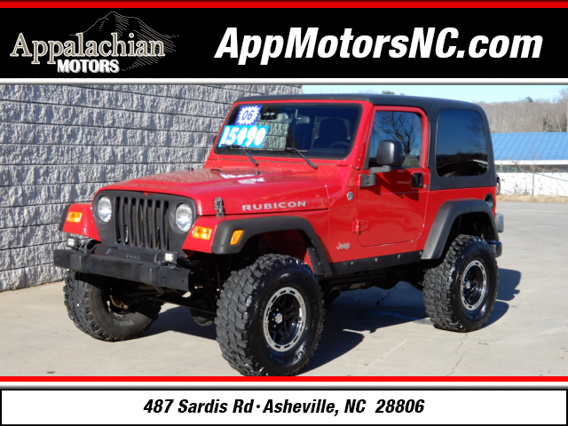 2006 jeep wrangler rubicon for sale in asheville. Black Bedroom Furniture Sets. Home Design Ideas