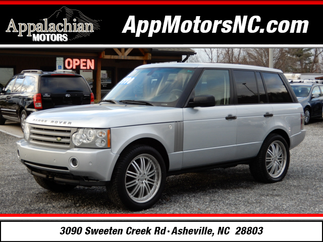 2008 Land Rover Range Rover HSE for sale by dealer