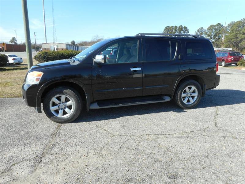 2012 NISSAN ARMADA SV for sale by dealer