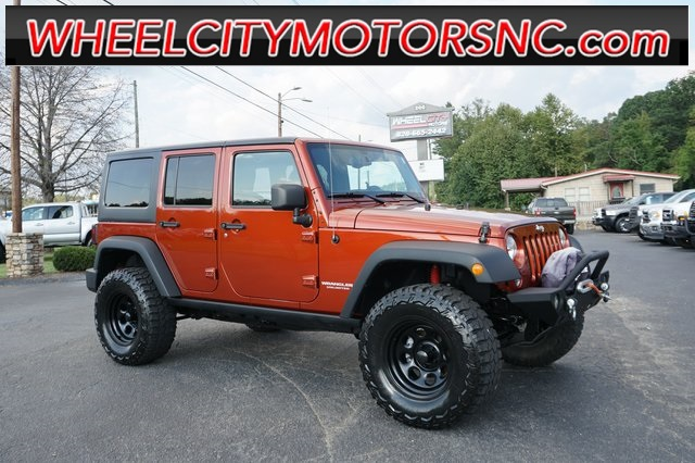 A used 2014 Jeep Wrangler Unlimited Rubicon Asheville NC
