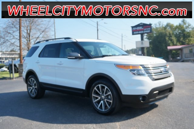 A used 2015 Ford Explorer XLT Asheville NC