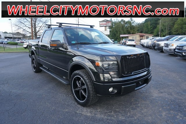 A used 2013 Ford F-150 FX4 Asheville NC