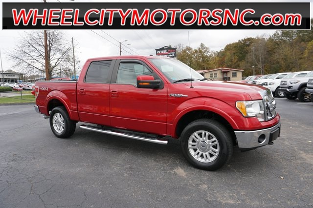 A used 2010 Ford F-150 Lariat Asheville NC