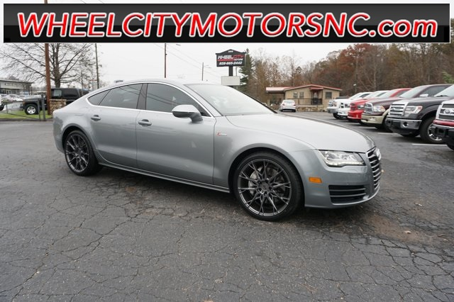 A used 2012 Audi A7 Asheville NC