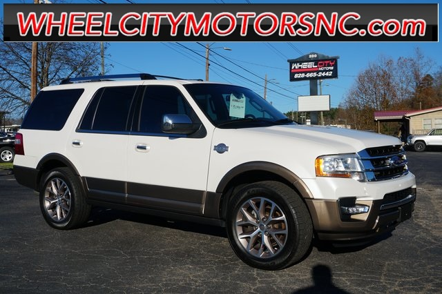 A used 2015 Ford Expedition King Ranch Asheville NC