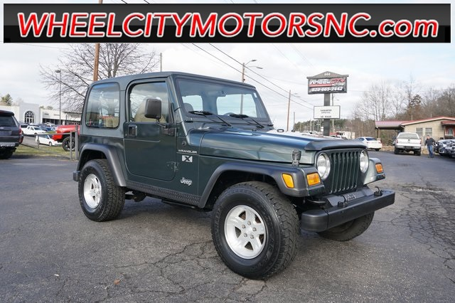 2002 Jeep Wrangler X for sale by dealer