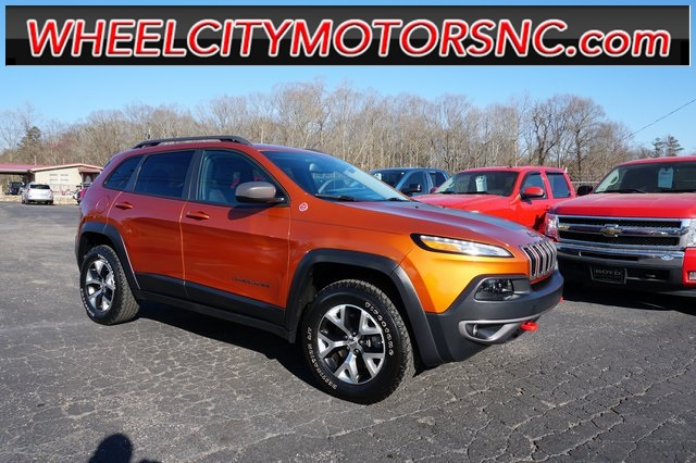 2015 Jeep Cherokee Trailhawk Asheville NC