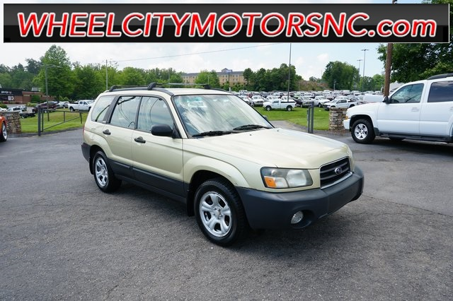 2003 Subaru Forester 2.5X for sale by dealer