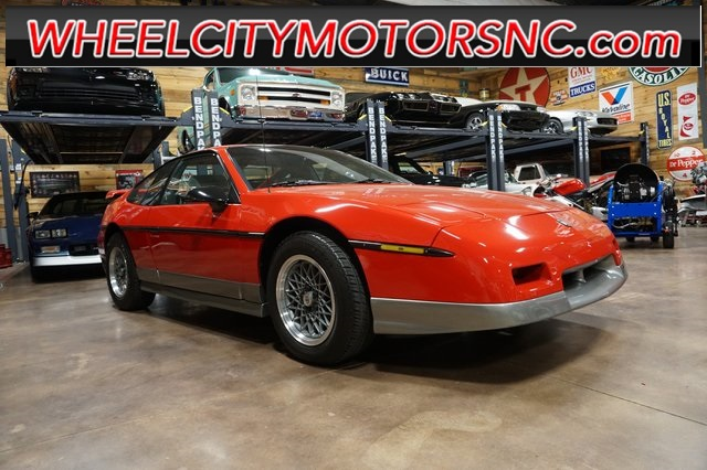 1986 Pontiac Fiero GT for sale by dealer