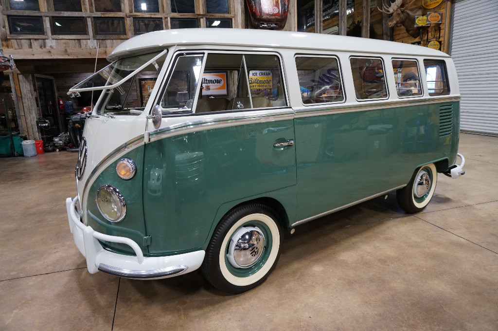 1964 Volkswagen 13 Window Van Deluxe for sale by dealer