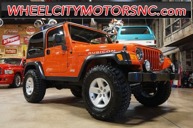 2005 Jeep Wrangler Rubicon for sale by dealer