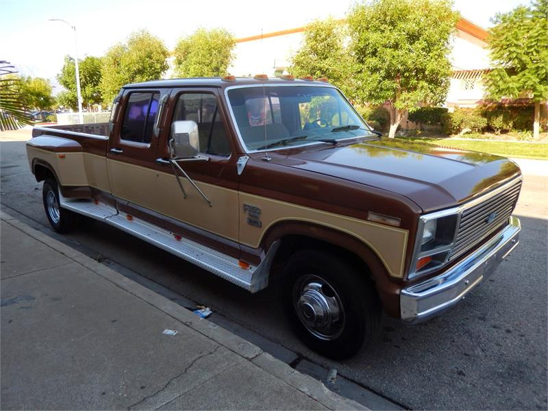 1985 FORD F350  CREW CAB DUALLY 6.9 for sale by dealer