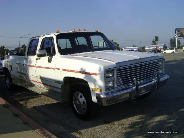 1985 CHEVROLET CREW CAB DUALLY for sale by dealer
