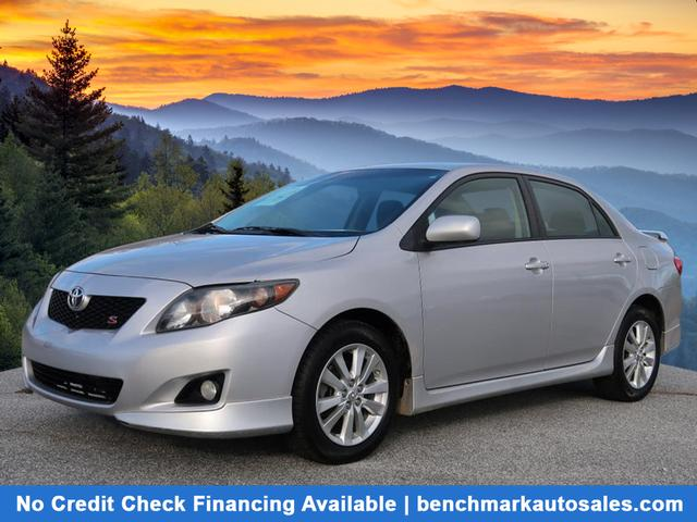 A used 2010 Toyota Corolla S Asheville NC