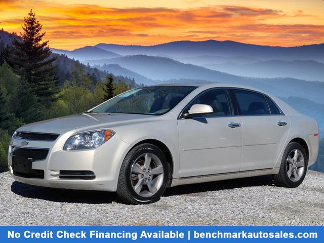 A used 2012 Chevrolet Malibu LT Asheville NC