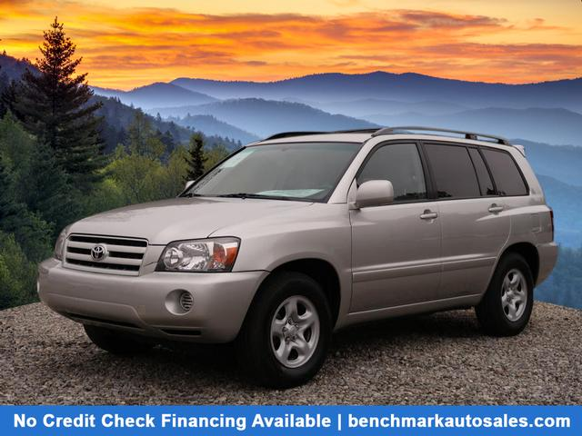 A used 2007 Toyota Highlander 4dr SUV I4 w/3rd Row Asheville NC