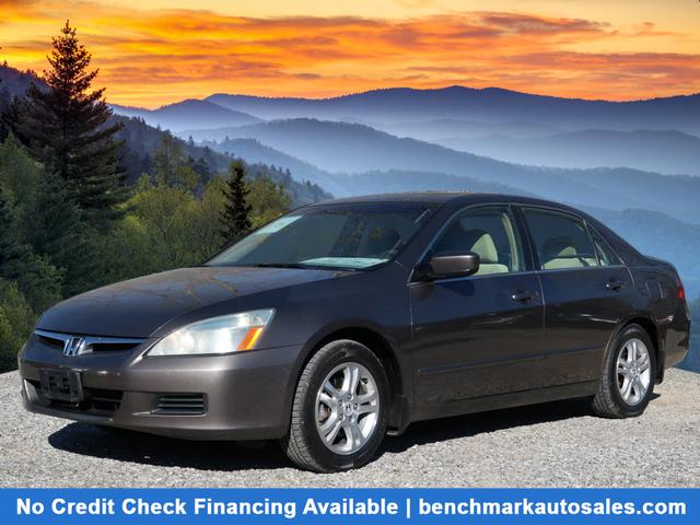 A used 2007 Honda Accord EX Asheville NC