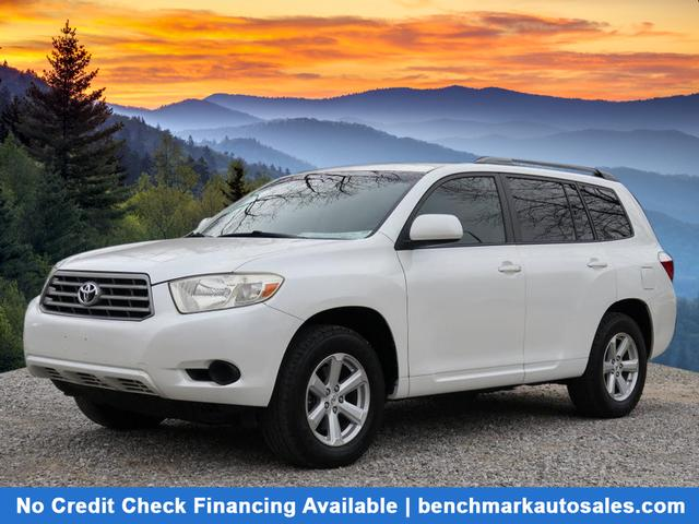 A used 2008 Toyota Highlander 4WD Asheville NC