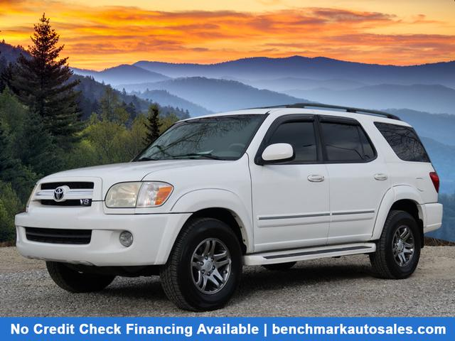 A used 2005 Toyota Sequoia 4X4 SR5 Asheville NC