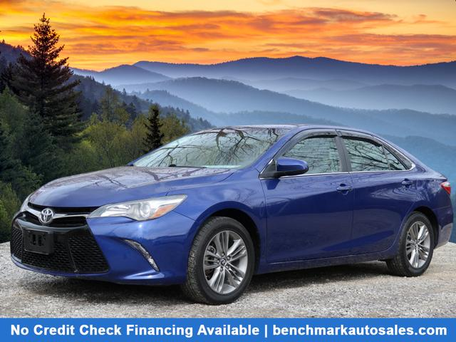 A used 2015 Toyota Camry SE Asheville NC