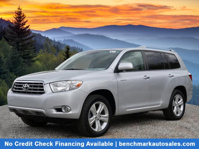 A used 2008 Toyota Highlander AWD Limited 4dr SUV Asheville NC