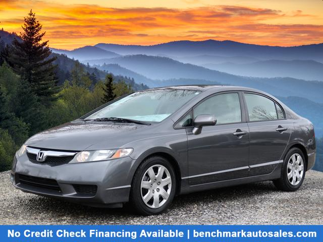 A used 2010 Honda Civic LX Asheville NC