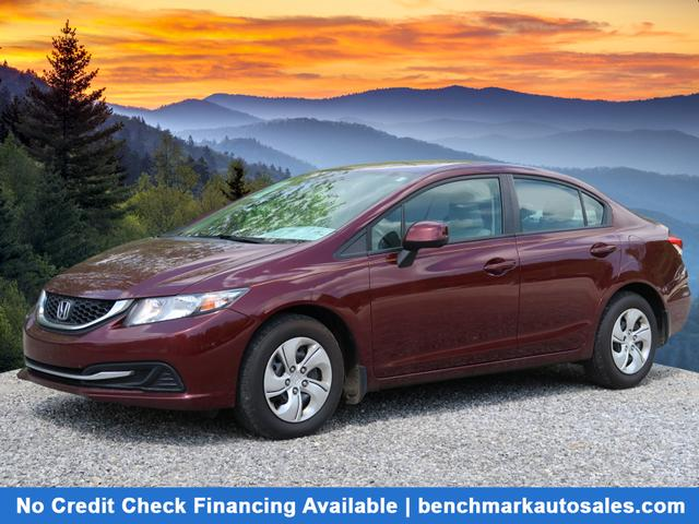 A used 2013 Honda Civic LX Asheville NC