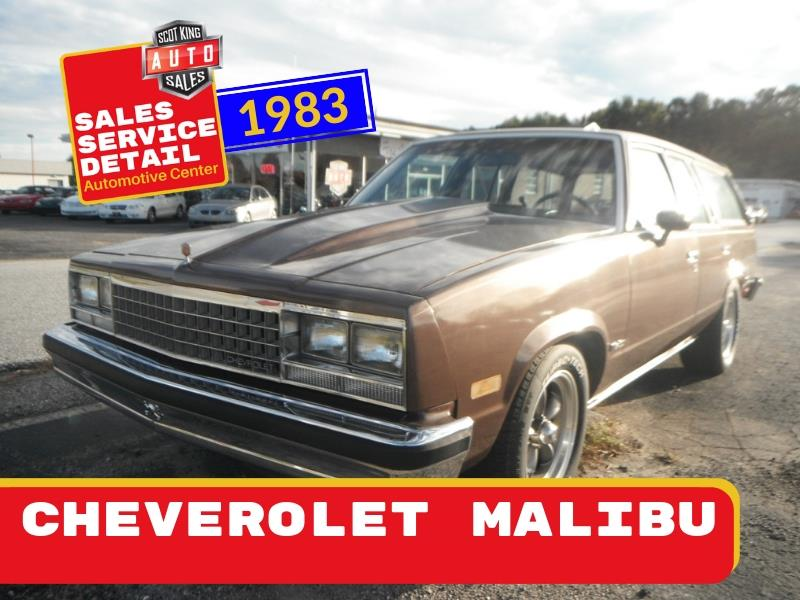 1983 Chevrolet Malibu Classic Wagon Base for sale by dealer