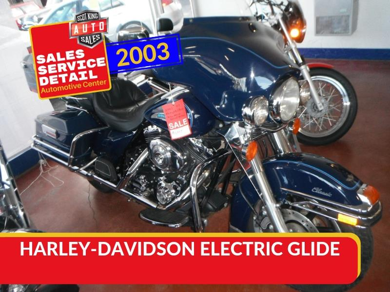 2003 HARLEY-DAVIDSON ELECTRIC GLIDE for sale by dealer