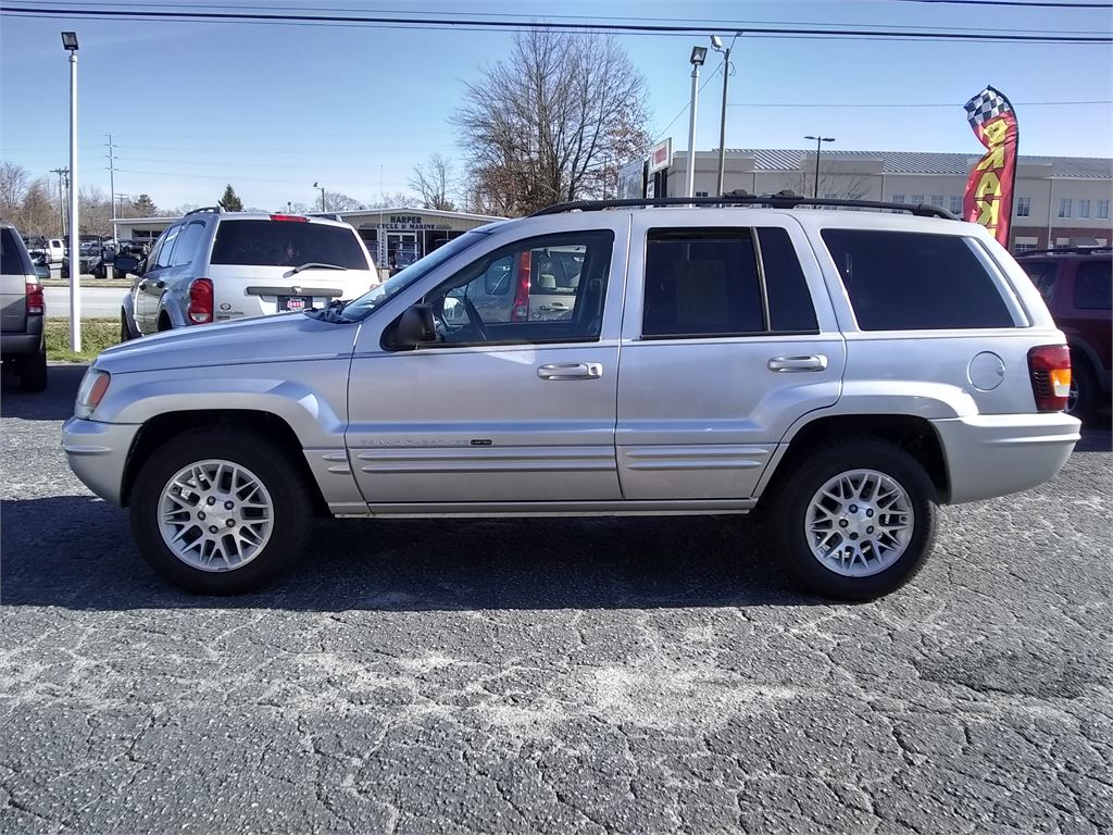 2002 Jeep Grand Cherokee Limited 4WD for sale by dealer