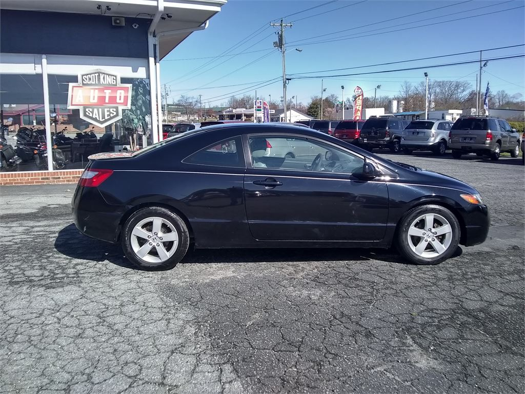 2008 Honda Civic EX Coupe AT with Navigation for sale by dealer