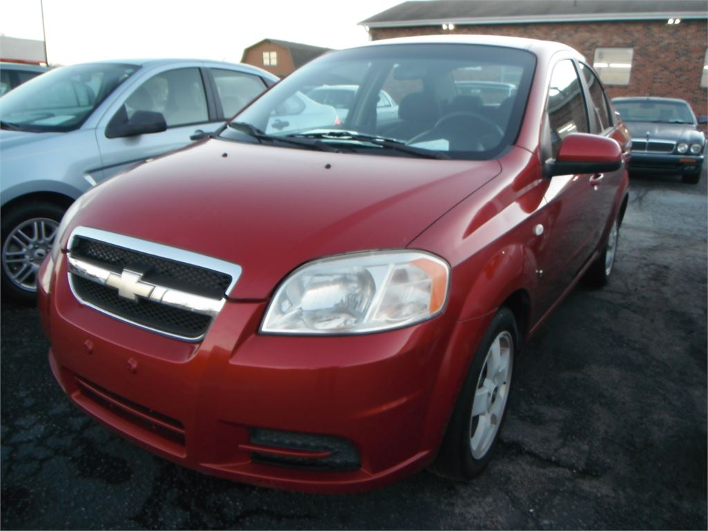 2007 Chevrolet Aveo LT 4-Door for sale by dealer