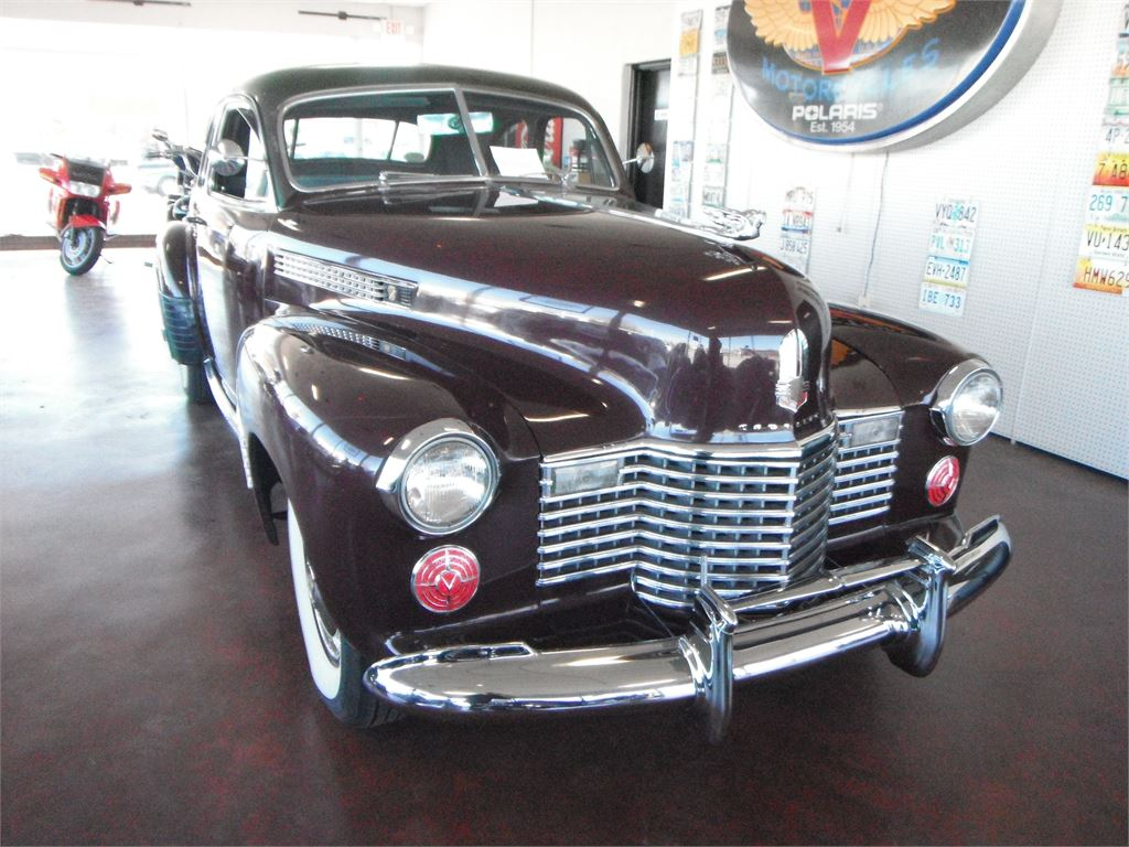 1941 CADILLAC 62 COUPE DELUXE for sale by dealer