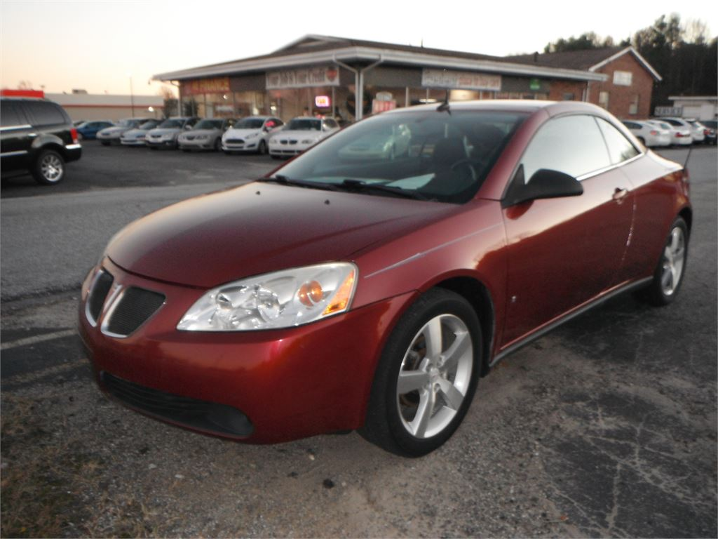 2008 Pontiac G6 GT Convertible for sale by dealer